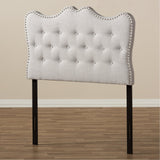 Baxton Studio Emma Modern and Contemporary Fabric Headboard