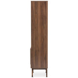 Baxton Studio Ashfield Bookcase