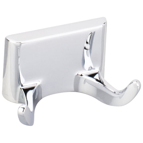 Elements Bridgeport Traditional Robe Hook in Polished Chrome