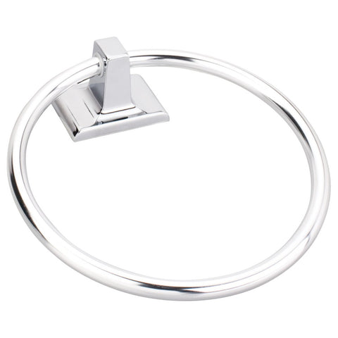 Elements Bridgeport Traditional Towel Ring in Polished Chrome