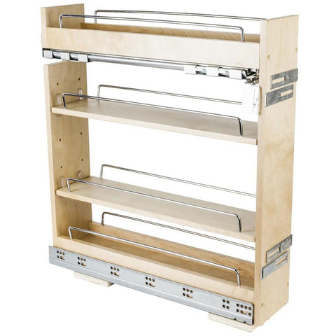 """No Wiggle Base Cabinet Pullout with Premium Soft-close in UV Coated"