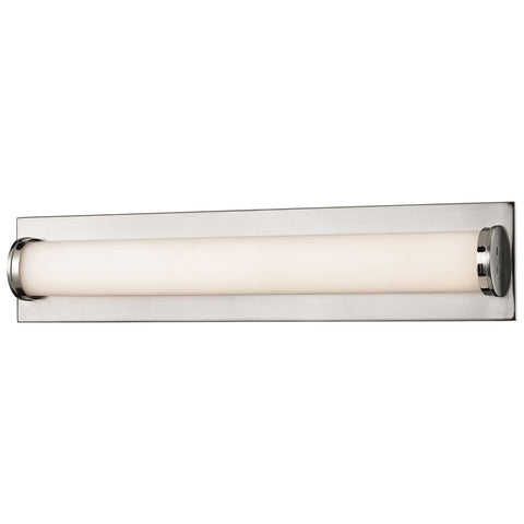 Barrie 17.5 Watt LED Vanity in Matte Satin Nickel