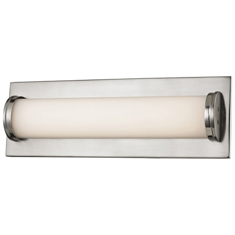 Barrie 1-Light LED Vanity in Matte Satin Nickel