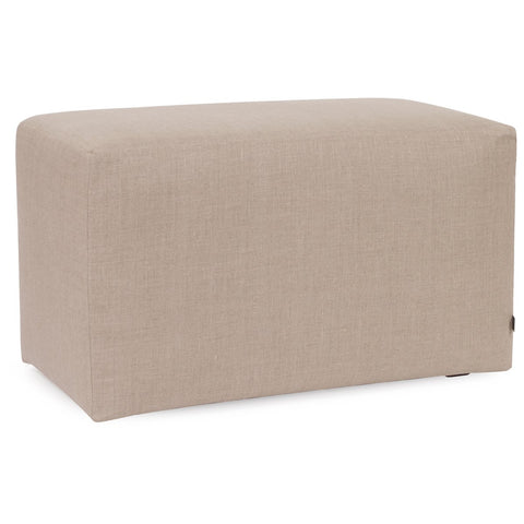 Prairie Linen Natural Universal Bench Cover