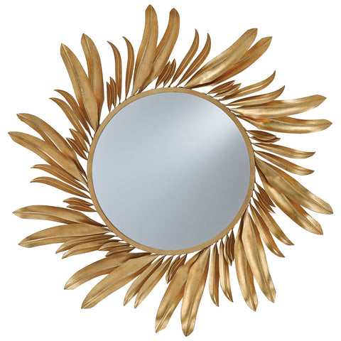 Folium Gold Leaf Mirror