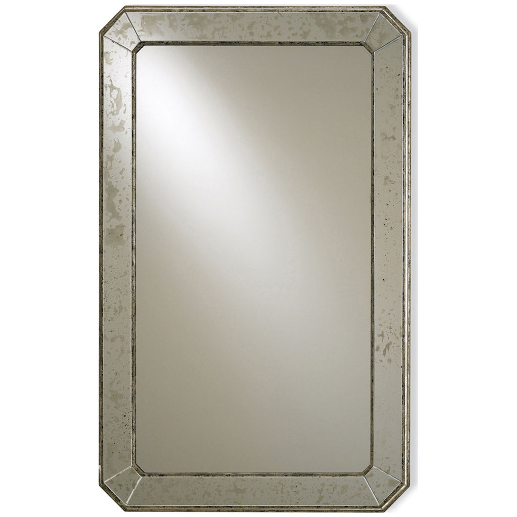 Antiqued Wall Mirror