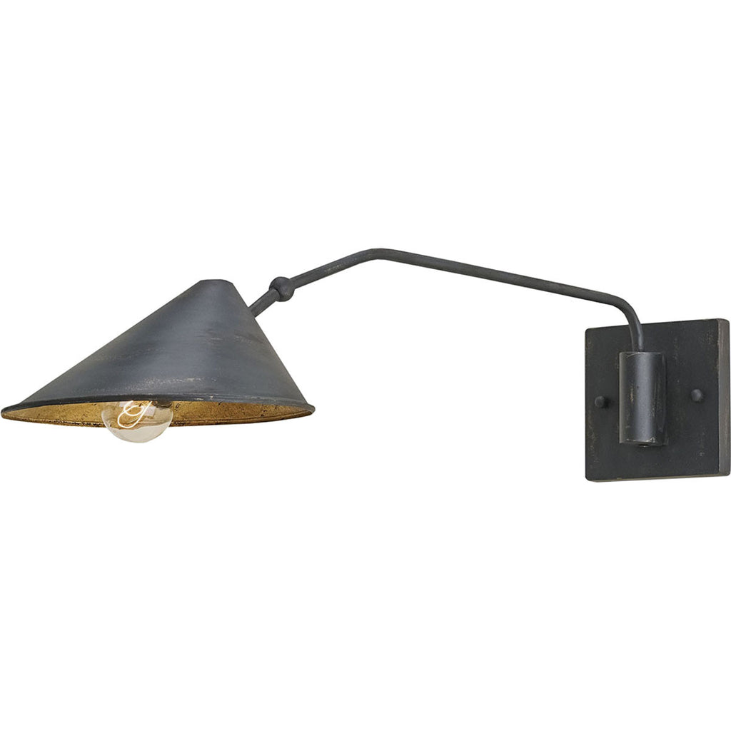 Serpa French Black Wall Sconce