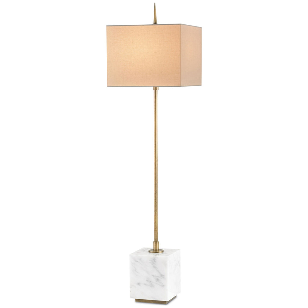 Thompson Brass Console Lamp
