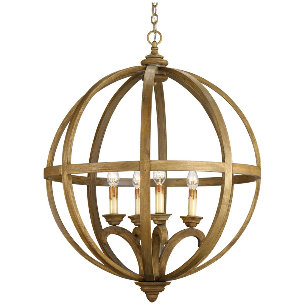 Large Axel Orb Chandelier