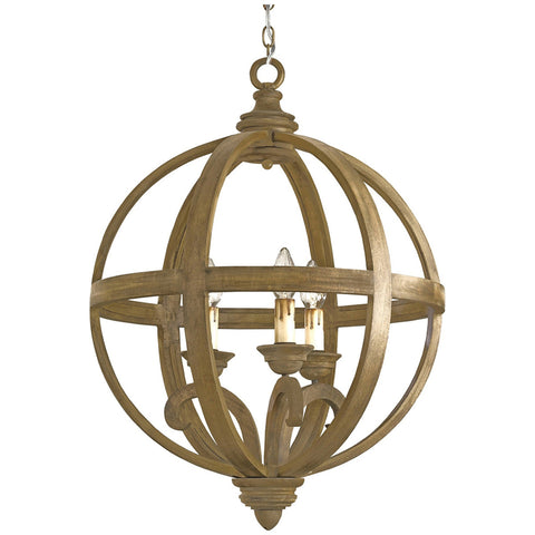 Small Axel Orb Chandelier
