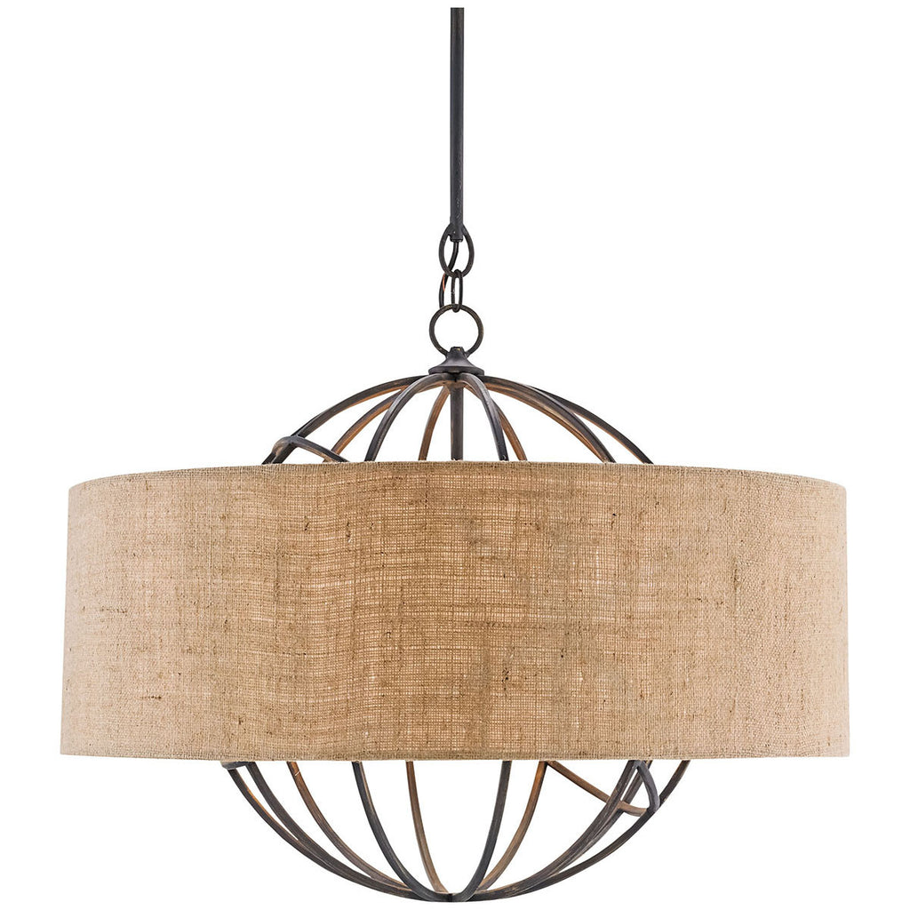 Millcroft French Black Chandelier