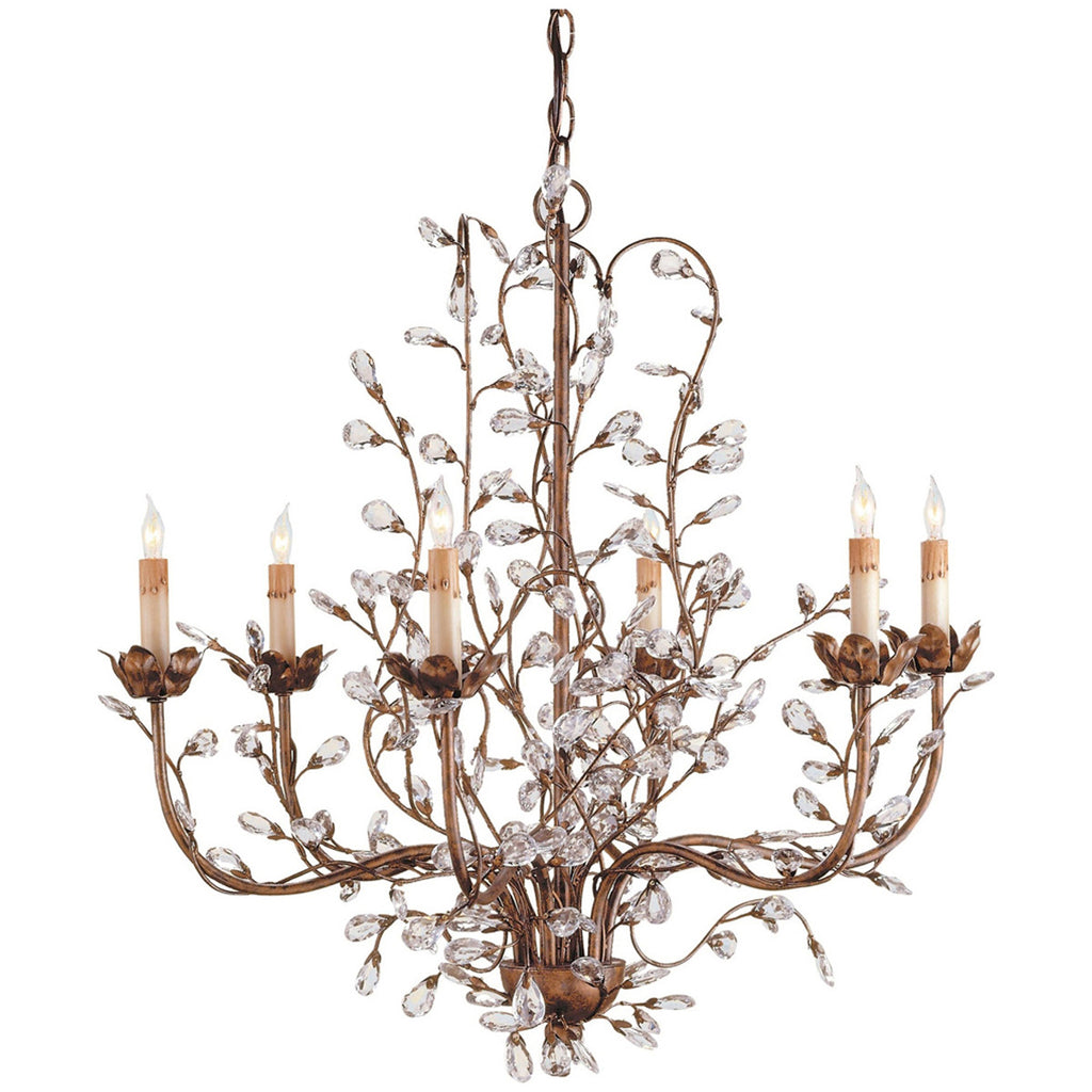 Medium Crystal Bud Chandelier