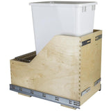 Preassembled Quart Single Pullout Waste Container System