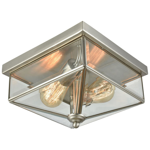 Lankford 2-Light Outdoor Flush