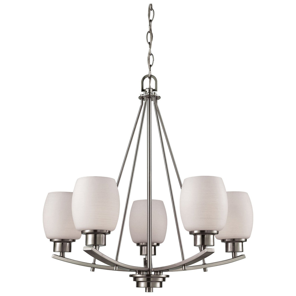 Casual Mission 5-Light Chandelier