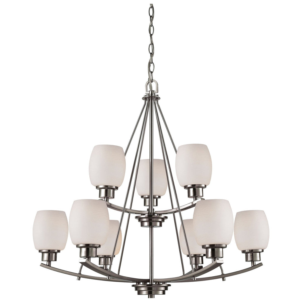 Casual Mission 9-Light Chandelier