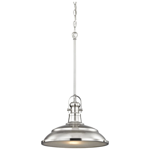 Blakesley 1-Light Pendant with Frosted Glass