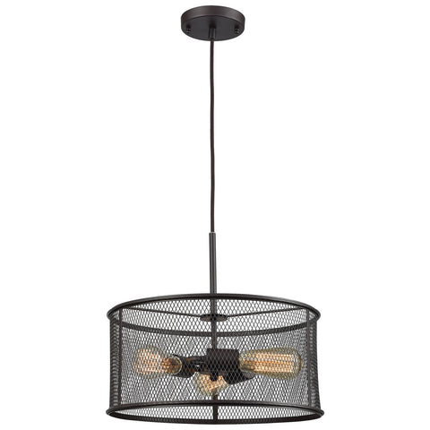 Williamsport 3-Light Chandelier with Oil Rubbed Bronze