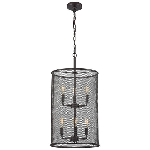Williamsport 6-Light Oil Rubbed Bronze Chandelier