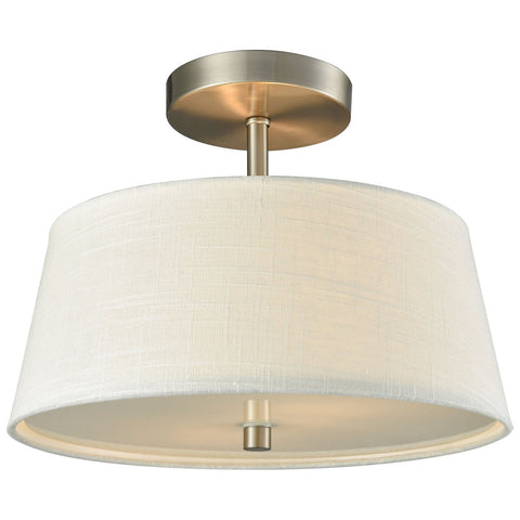 Morgan 2-Light Semi Flush