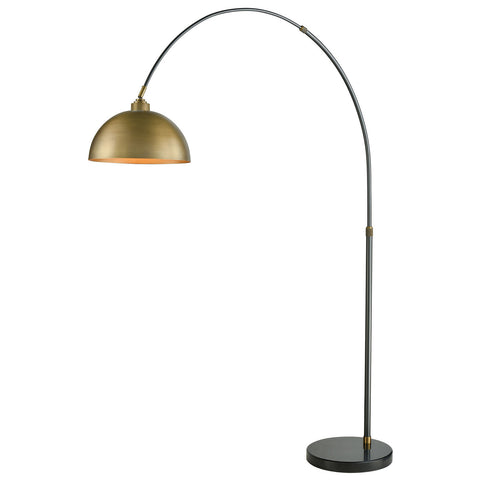 Magnus Floor Lamp in Oil Rubbed Bronze with Aged Brass