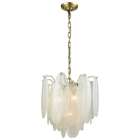 Hush Small Pendant Light in White