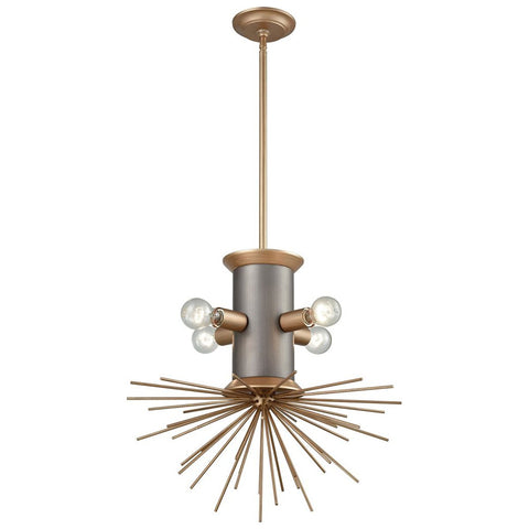 Lucy Spike Four Light Pendant