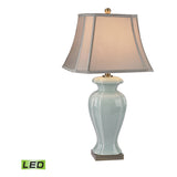Ceramic Table Lamp, Celadon Glaze