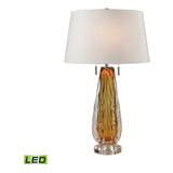 Modena Free Blown Glass LED Table Lamp