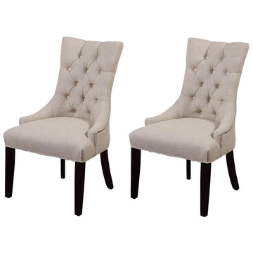 Fortnum Parson Chair in Natural, Set of 2