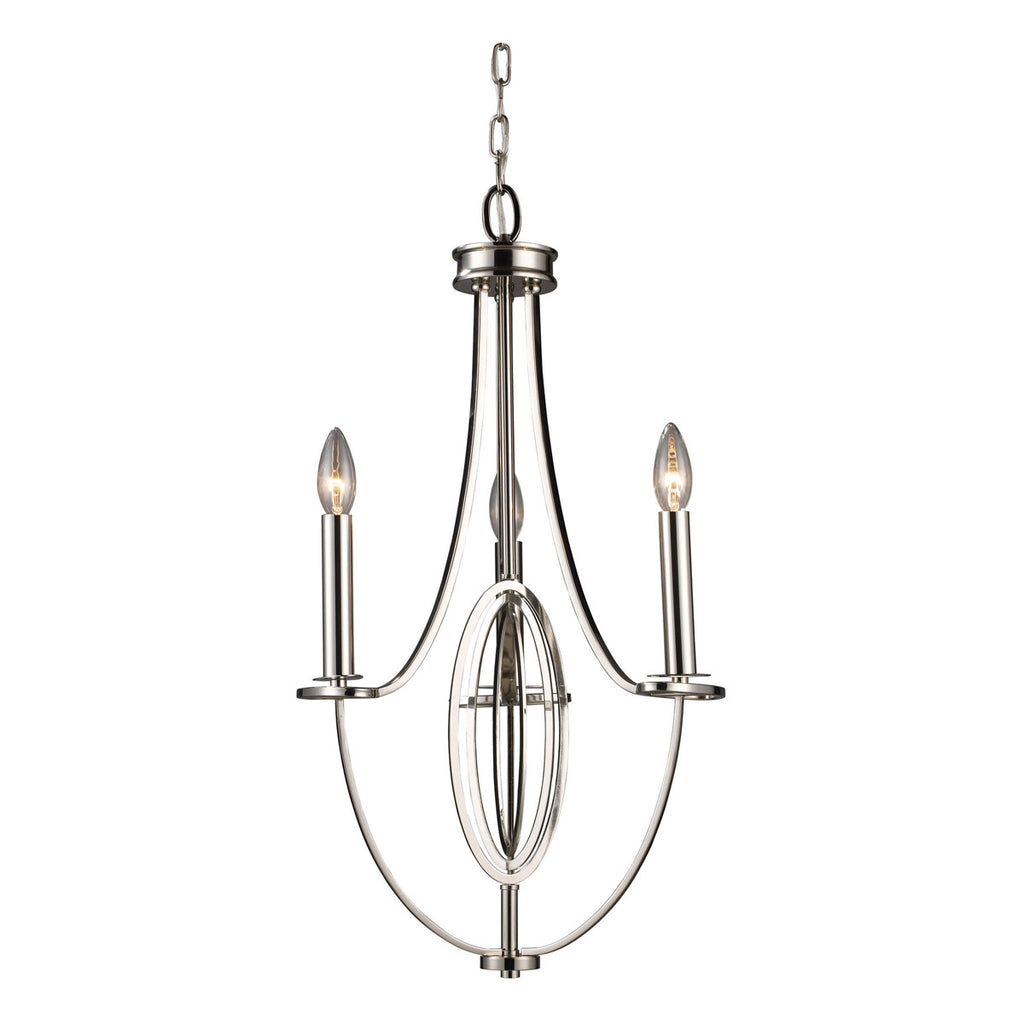 Dione 3-Light Chandelier
