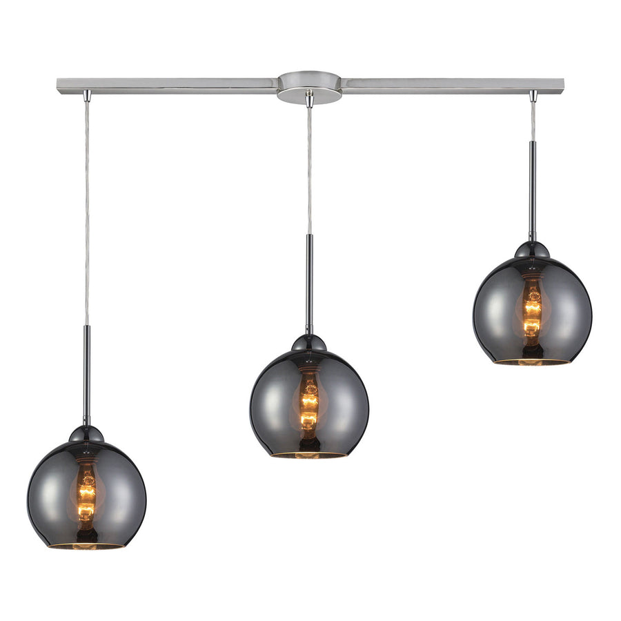 Cassandra 3 Light Pendant in Polished Chrome