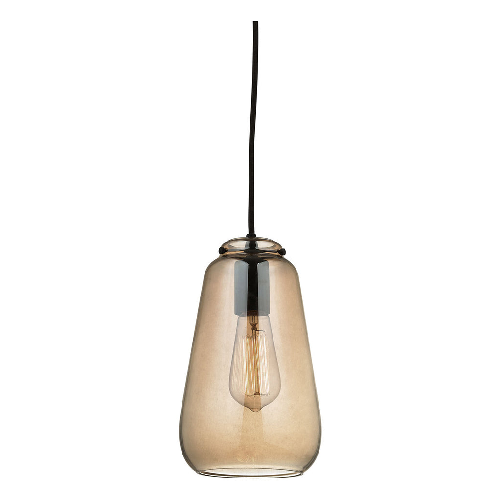 Orbital 1-Light Pendant with Oil Rubbed Bronze