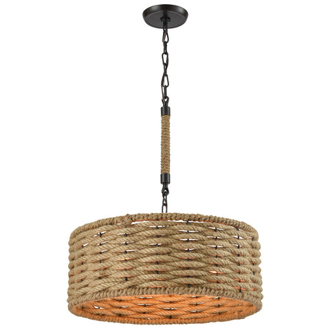 Weaverton 3-Light Chandelier in Oil Rubbed Bronze