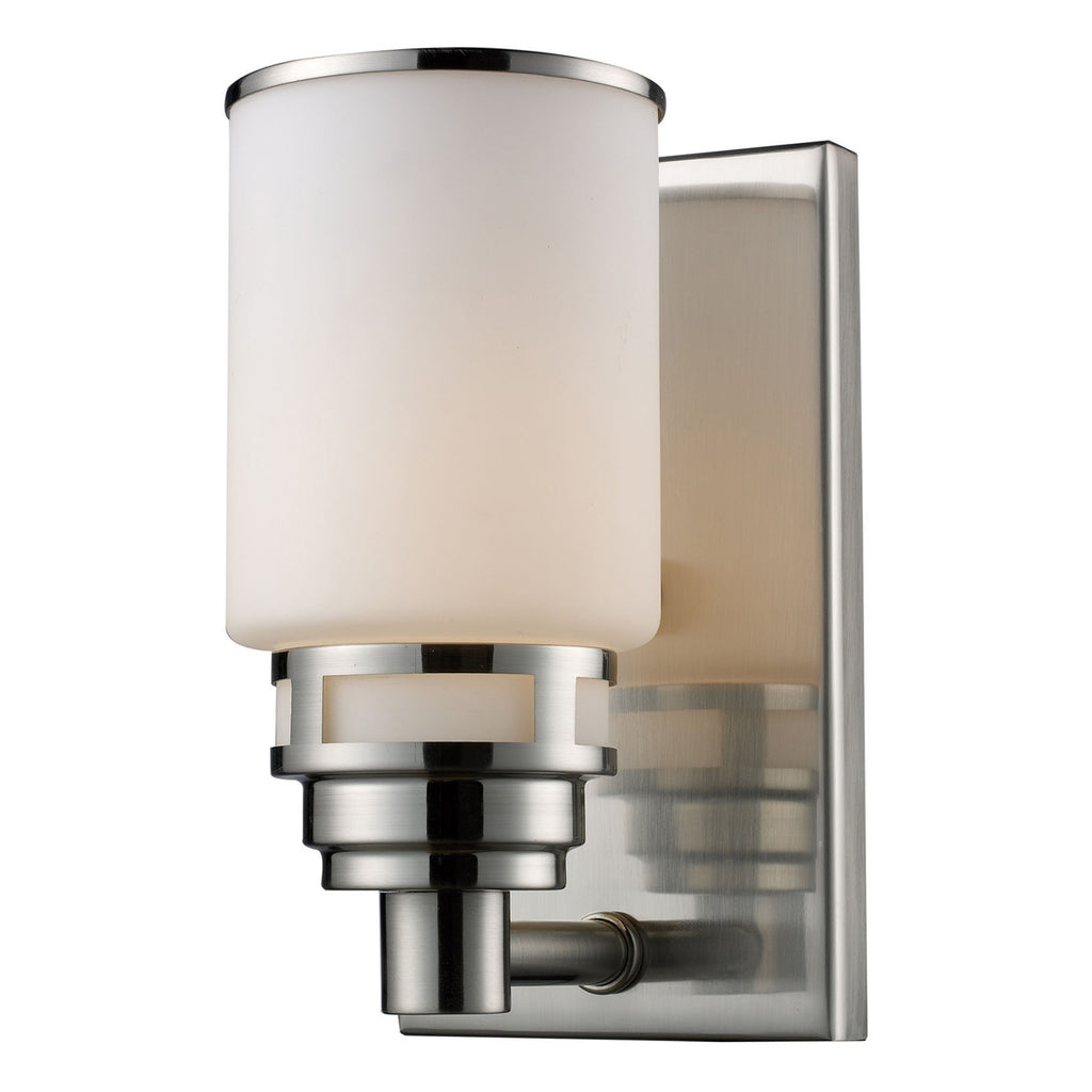 Bryant 1-Light Satin Nickel Vanity