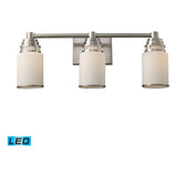 Bryant 3-Light Satin Nickel Vanity