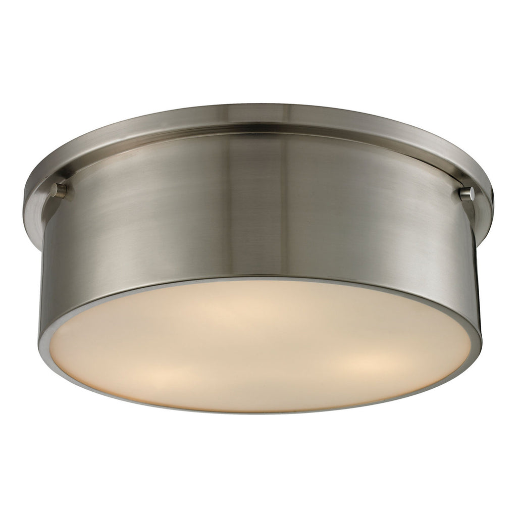 Simpson 3-Light Flushmount