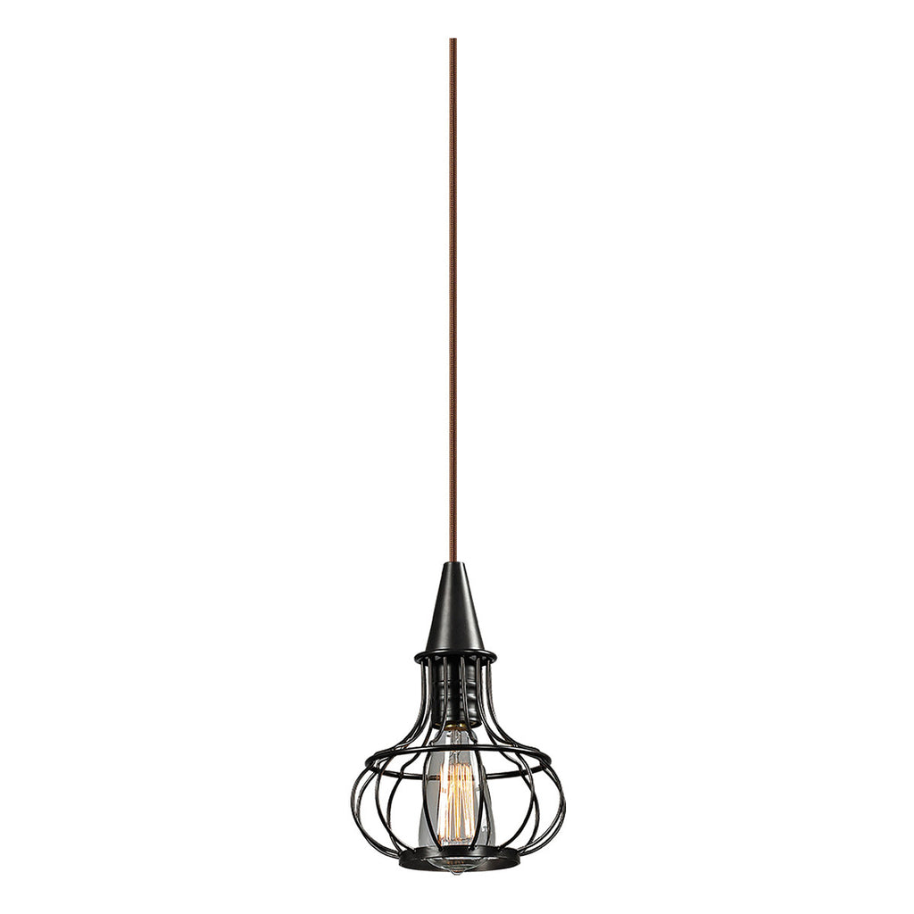 Yardley 1-Light Pendant in Oil Rubbed Bronze