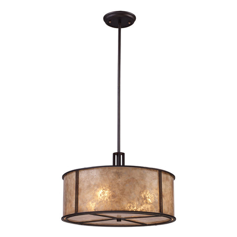 Barringer 4-Light Aged Bronze Pendant
