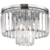 Palacial 1-Light Pendant with Polished Chrome