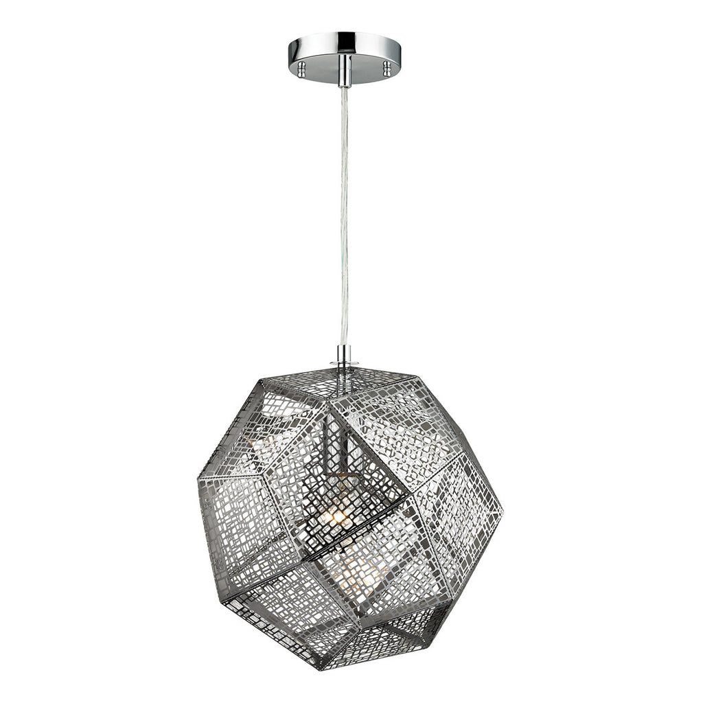 Roxa 1-Light Pendant in Polished Chrome