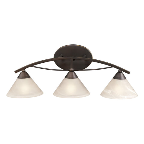 3-Light Vanity in Oil Rubbed Bronze