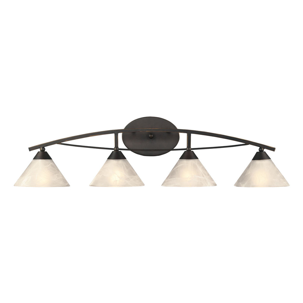 4-Light Vanity in Oil Rubbed Bronze
