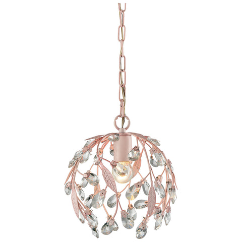Circeo 1-Light Pendant with-Light Pink