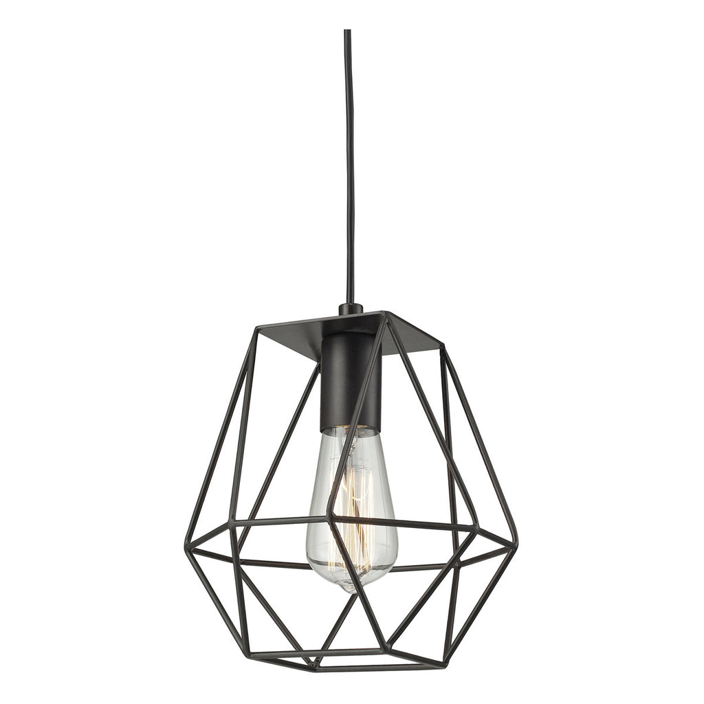 Delaney 1-Light Pendant in Oil Rubbed Bronze