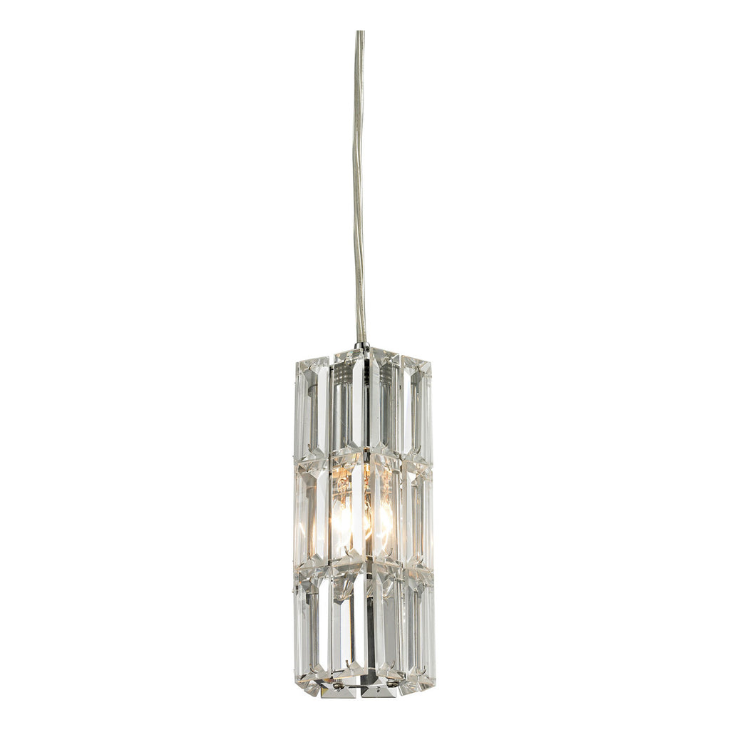 Cynthia 1-Light Pendant in Polished Chrome