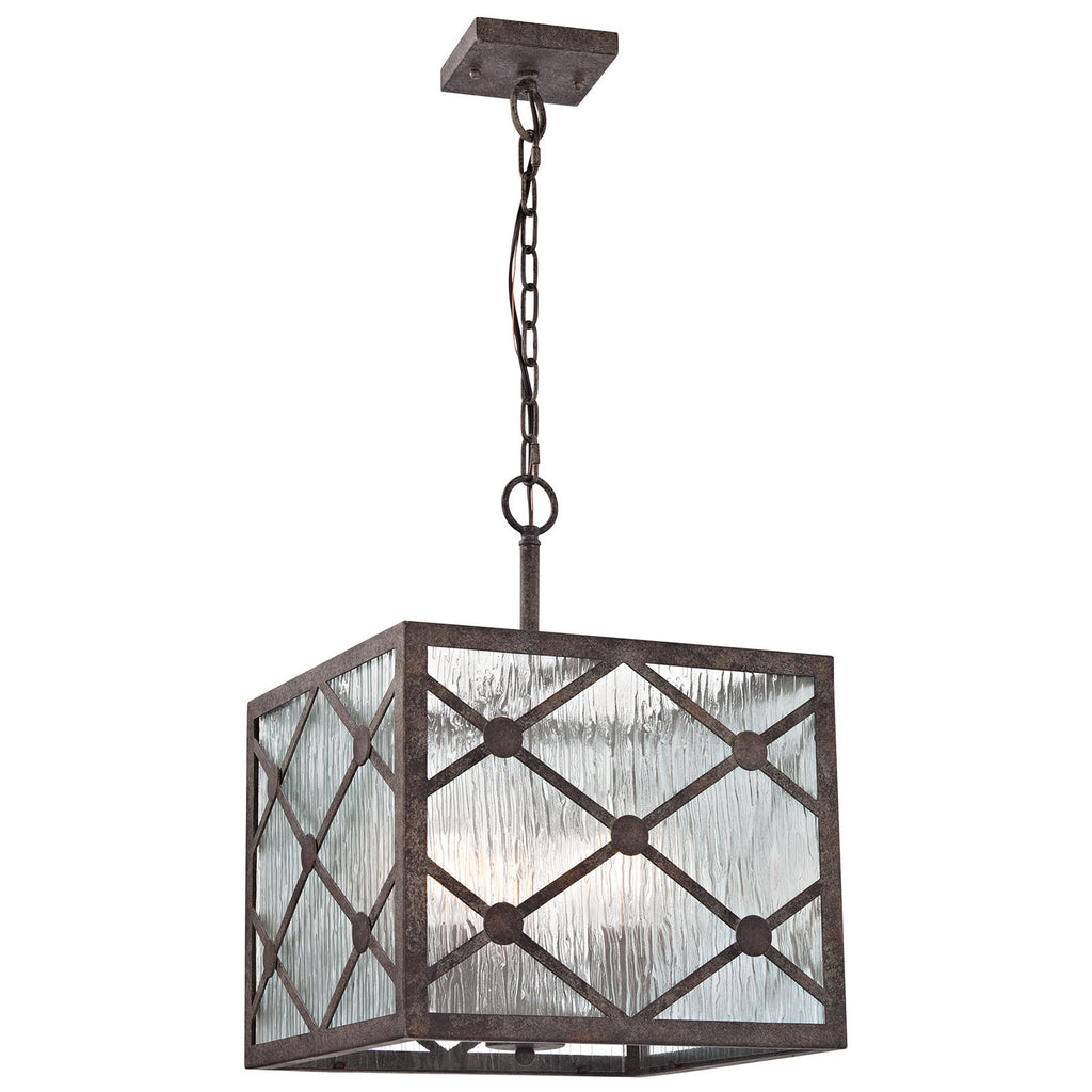 Radley 3-Light Pendant in Malted Rust