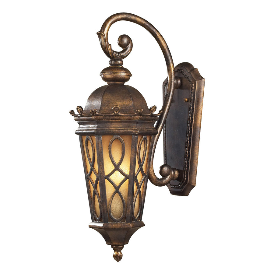 Burlington Junction 2-Light Hazelnut Bronze Wall Bracket
