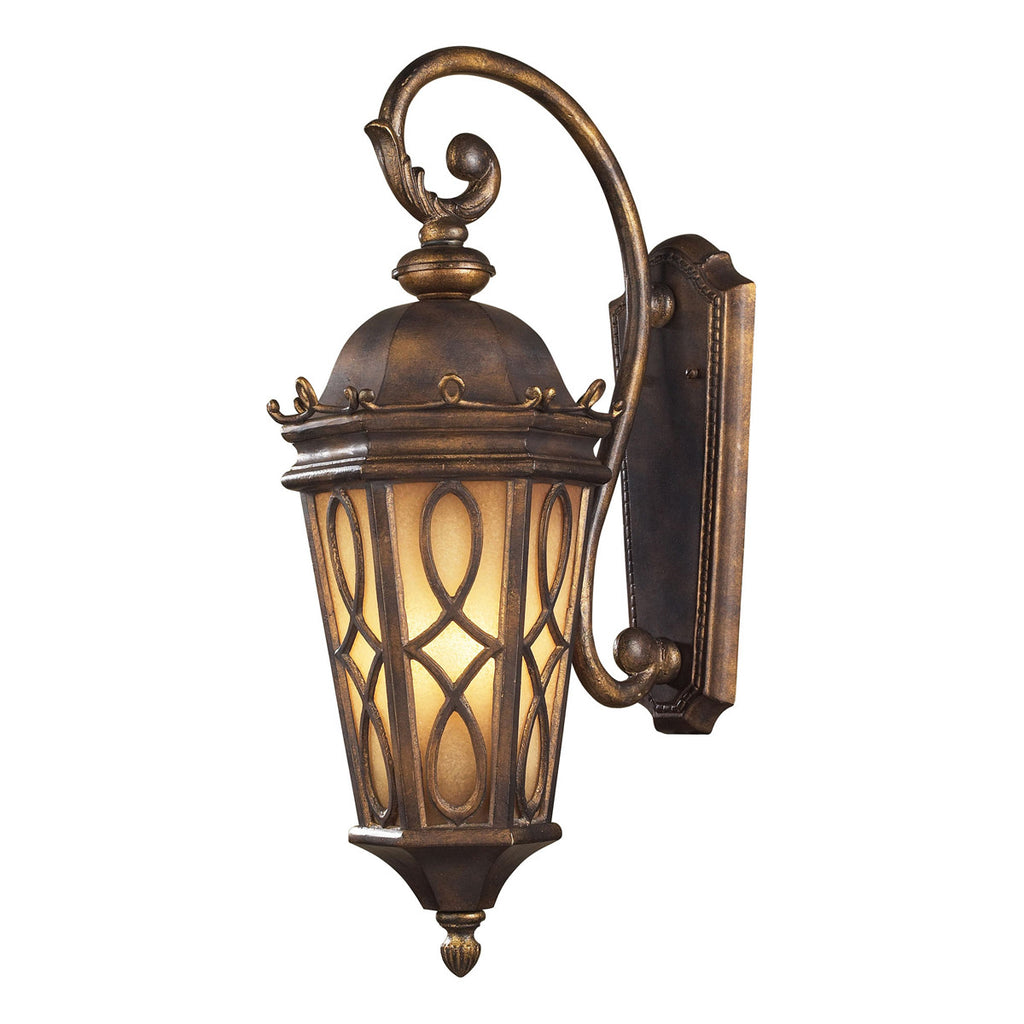 Burlington Junction 3-Light Hazelnut Bronze Wall Bracket
