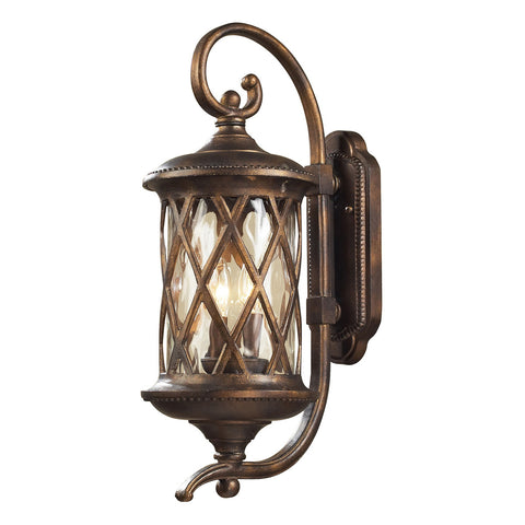 Barrington Gate 2-Light Outdoor Sconce in Hazelnut Bronze